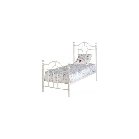 Patton Cream Metal Bed