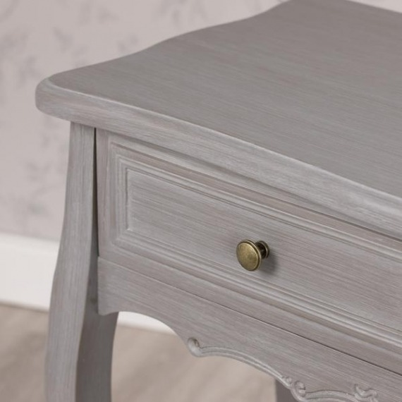 Maison Grey 2 Drawer Console Table