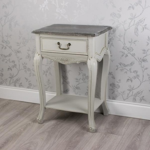 Agatha 1 Drawer Side Table