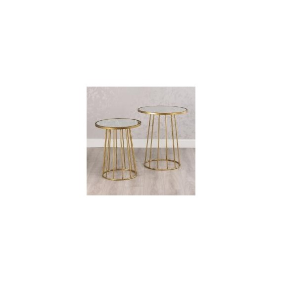 Beck Set of 2 Round Tables