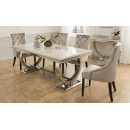 Luna Marble 2m Dining Table