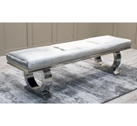 Luna Velvet Upholstered Bench