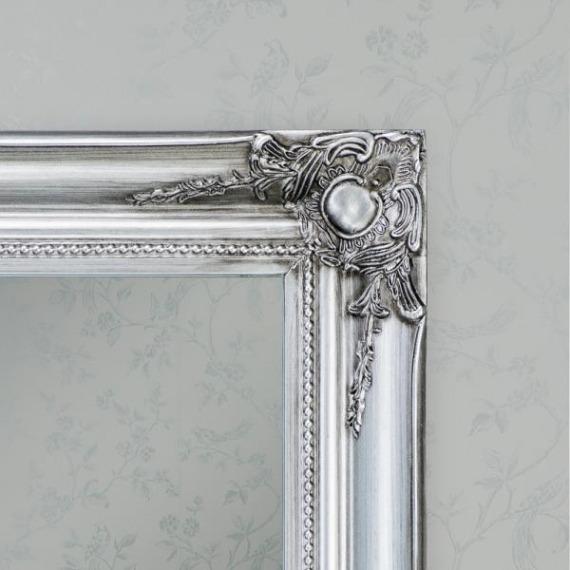 Roma Silver Wall Mirror