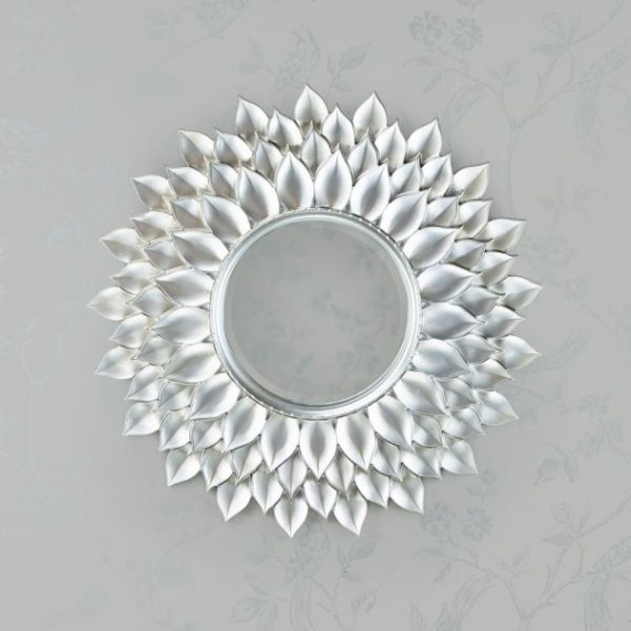 Leaf Decor Mirror 85cm