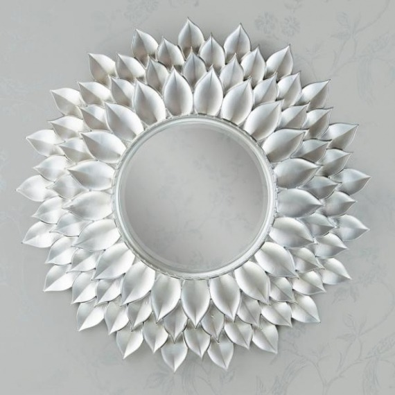Leaf Decor Mirror Large 108cm