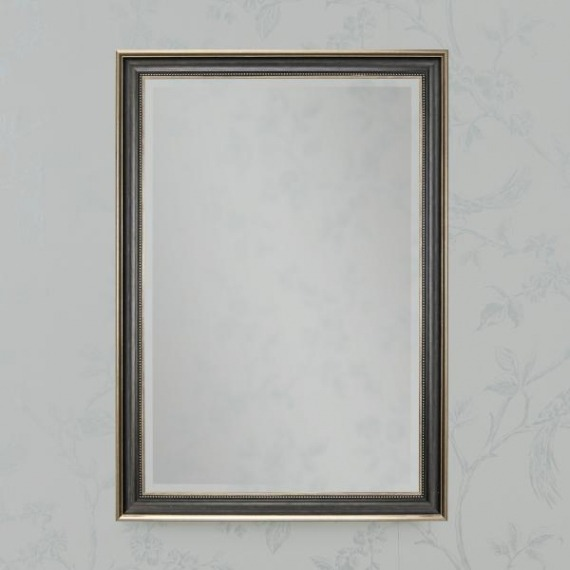 Seven Brown/Gold Wall Mirror