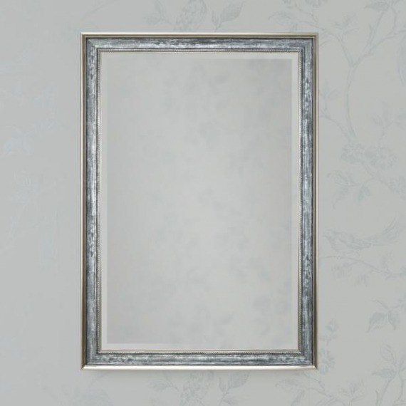Seven Antique Grey Wall Mirror