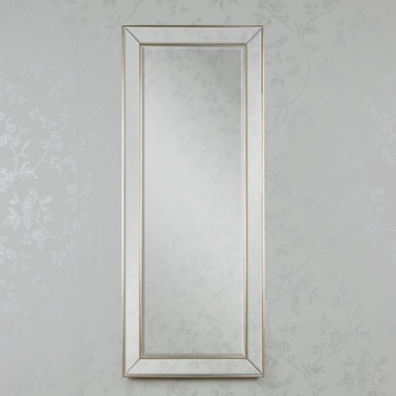 Bowen Leaner Mirror Antique Clear