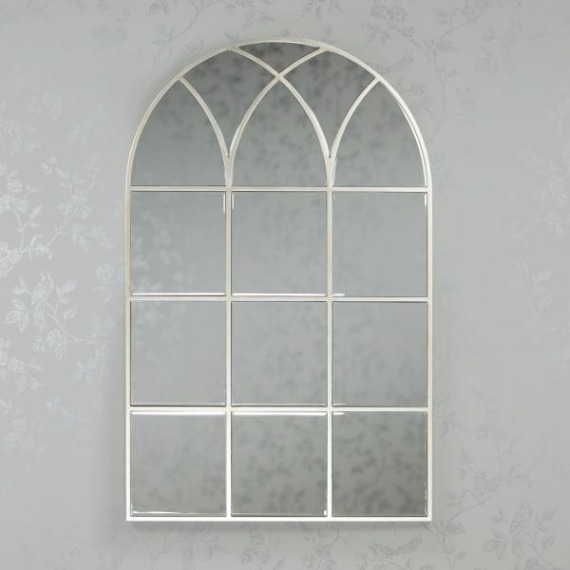Window Mirror Soft Champagne 112cm