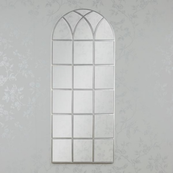 Full Length Window Mirror Soft Champagne 173cm