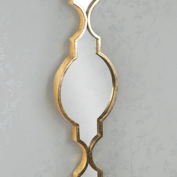 Mimi Mirror Set (Set of 2) Silver & Gold