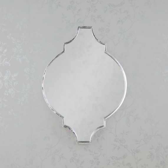 Mimi Wall Mirror (Silver & Gold)