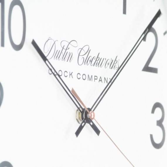 Charlton Modern Black Clock