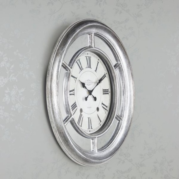 Cole Mirrored Clock