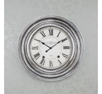 Clockworks Clock Pewter 66cm