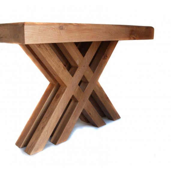 Cologne 2m Cross Leg Dining Table