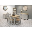 Jackson Large Extending Dining Table 150/195cm