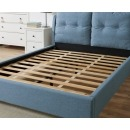 Notting Hill Blue Fabric Bed