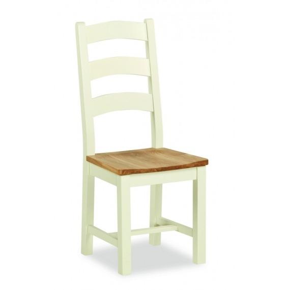 Cream Oak Chair