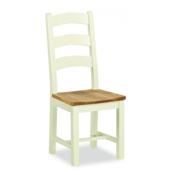 Cream Oak Chair