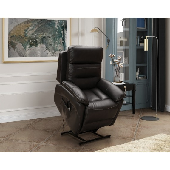 Navona Feel Fabric Twin Motor Lift & Rise Chair