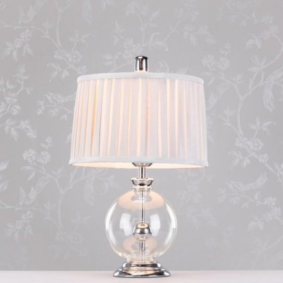 Glamour & Glass Sphere Lamp 46cm