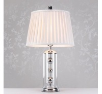 Glamour & Glass Cylinder Lamp 64cm
