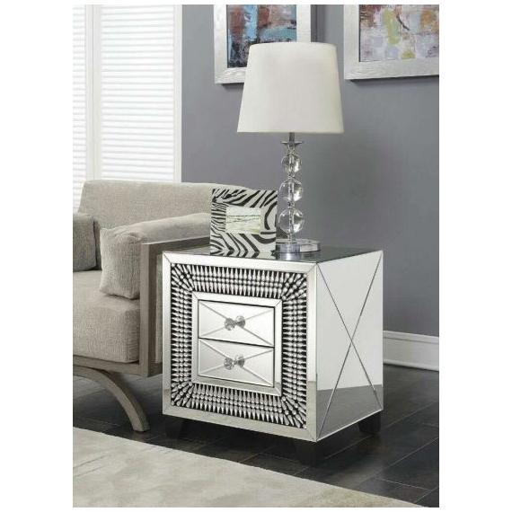 Sofia 2 Drawer Lamp Table