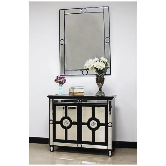 Maison 2 Door Chest and Mirror