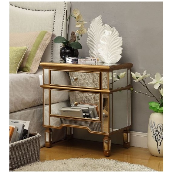 Roehl 2 Drawer Side Table