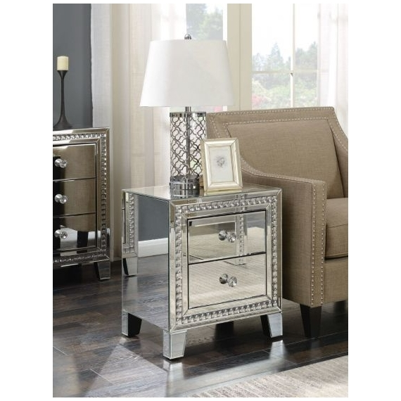 Essex 2 Drawer Lamp Table