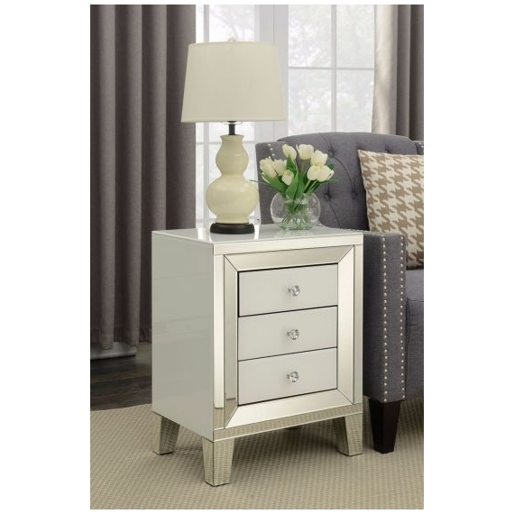 Keeter 3 Drawer end table