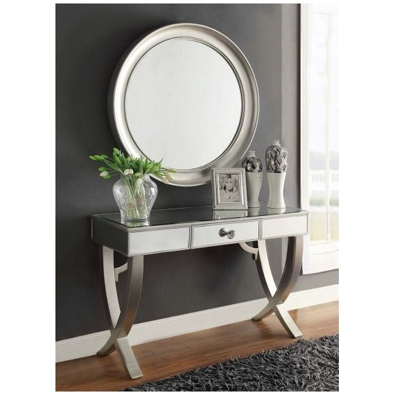 Saturn Console Table and Mirror