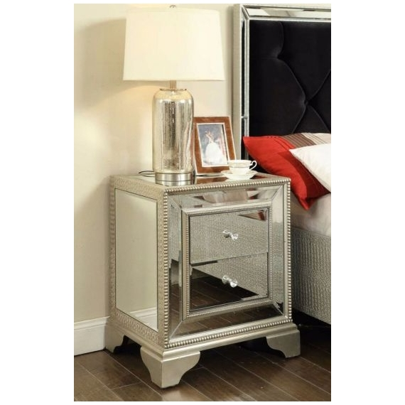 Hallmark 2 Drawer Lamp Table