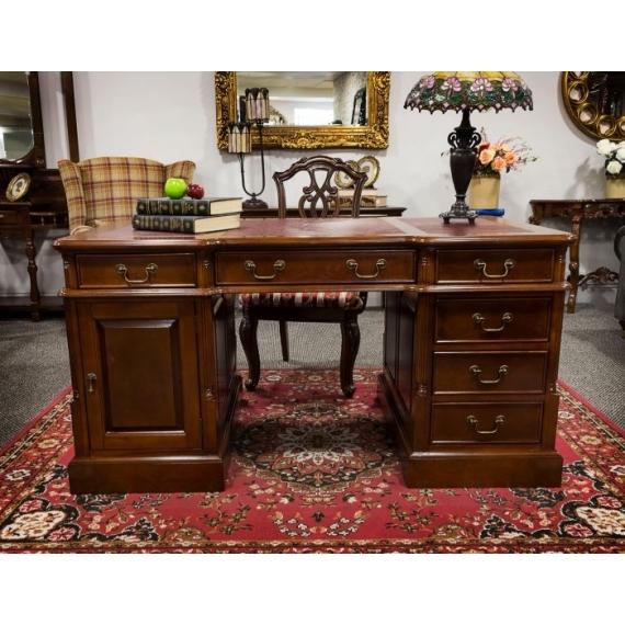 Chippindale Mahogany Desk