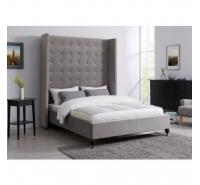 4.6ft Double LA Bedframe Grey