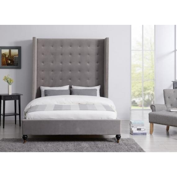 5ft Double LA Bedframe Grey