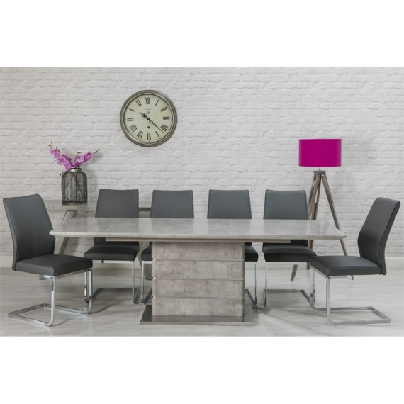 Rhone Extending Dining Table 160-220cm