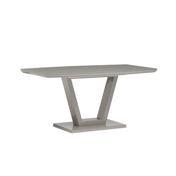 Floris Grey Gloss Dining Table 160cm