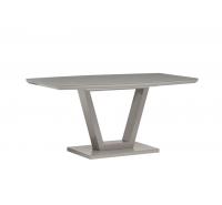 Floris Grey Gloss Dining Table 160cm