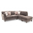Franklin Sectional Corner Sofa with Ottoman