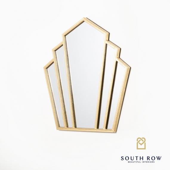 Odessa Fantail Mirror Gold