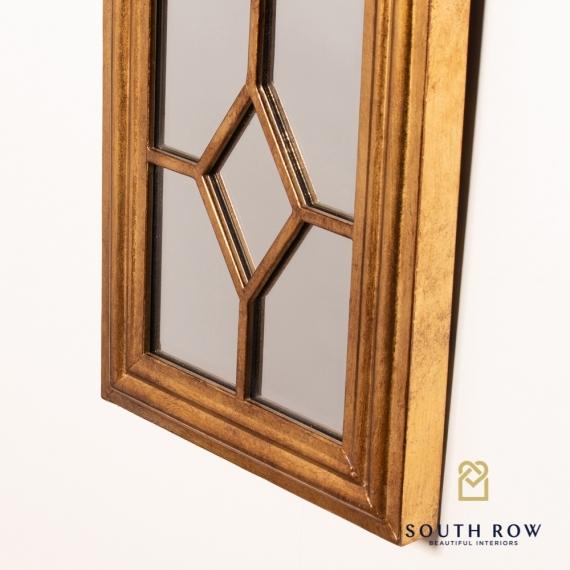 Amelia art mirror gold
