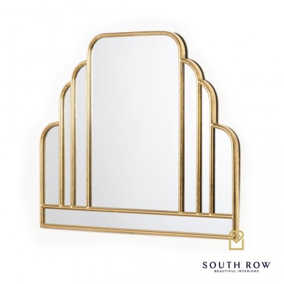 Odessa manhattan mirror gold leaf