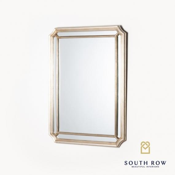 Penzance rectangular venetian mirror vintage champagne