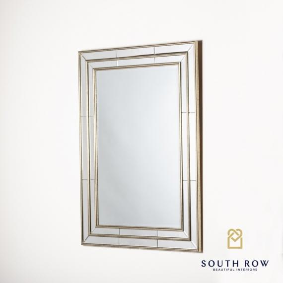 Regina venetian mirror vintage gold