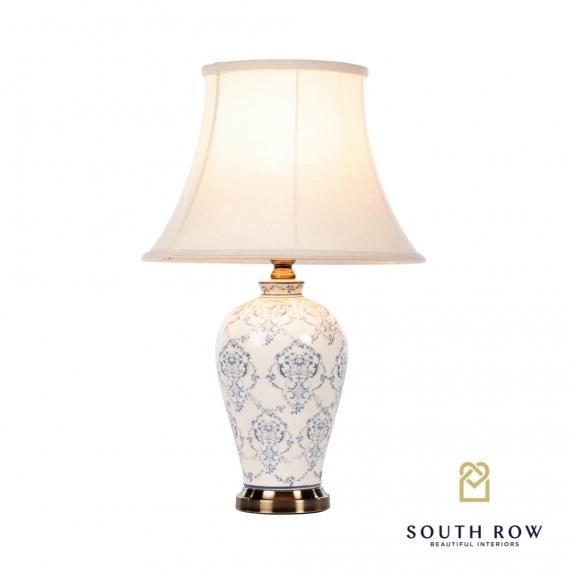 Kimberly Ceramic Lamp Brushed Bronze
