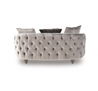 Lydia Velvet 3 Seater Sofa