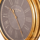 Amelia Wall Clock Gold Rim