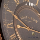 South Row Wall Clock Gold